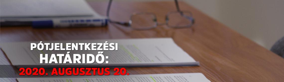 FELVÉTELI TÁJÉKOZTATÓ a 2020/2021-es tanévre